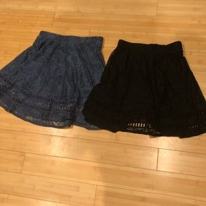 NWT Lace Skirts